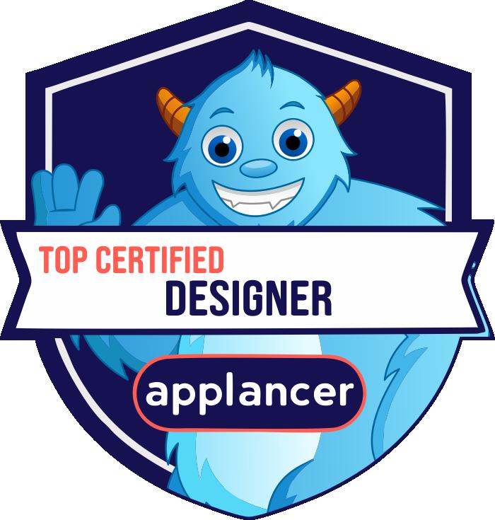 Top Certified Website Designer Badge