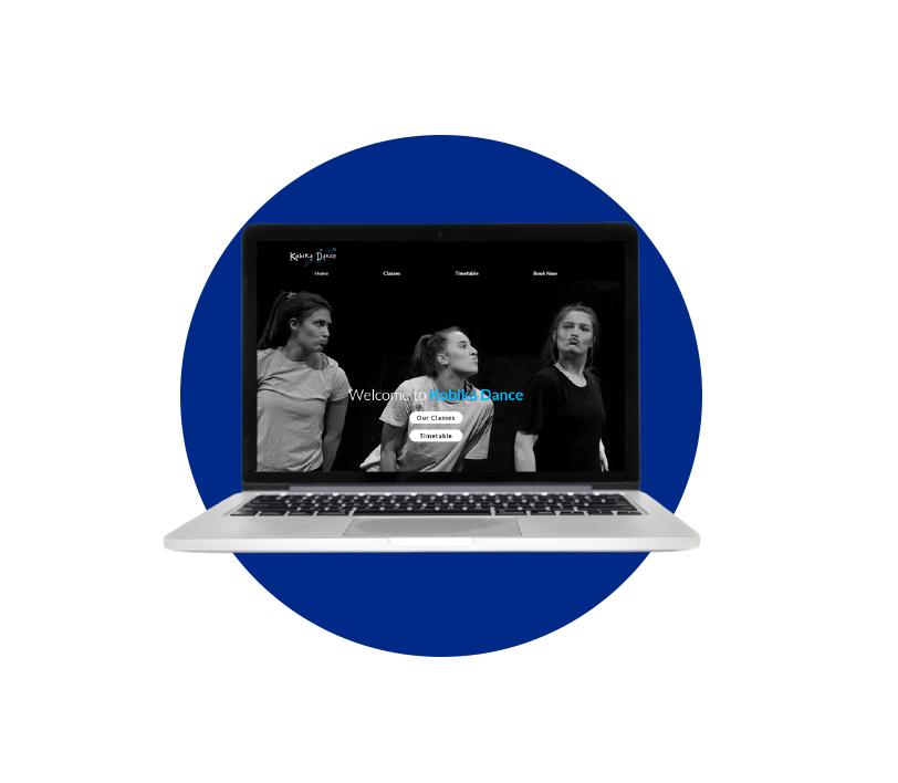 Kobika Dance Website Designed by Louis Websdale
