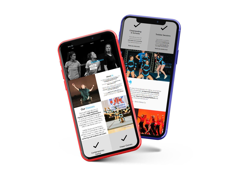 Web Design Essex Mobile Responsive Design Showcase