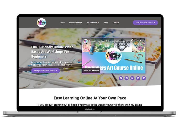 WordPress Website Designed by Louis Websdale